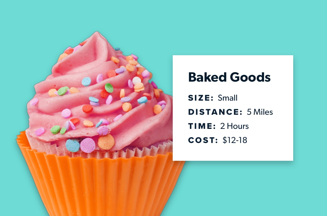 same day delivery for bakeries